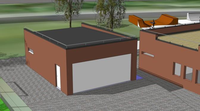VUL kan vinne materialer til ny garasje