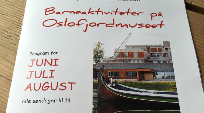 Barneaktiviteter på Oslofjordmuseet