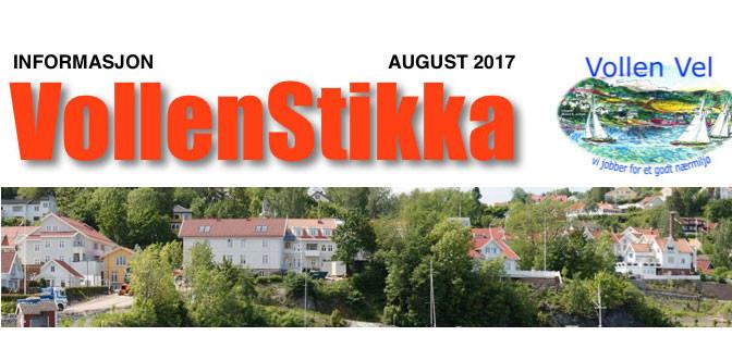 VollenStikka i farta – kommer 8. – 9. august